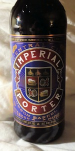 Bourbon Barrel Aged Imperial Porter