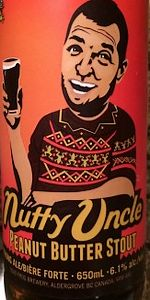 Nutty Uncle Peanut Butter Stout