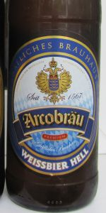 Arcobräu Weissbier Hell