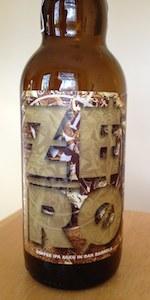 ZERO - Coffee IPA: Aged In Oak Barrels (Ghost 078)