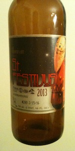 Brewer's Art St. Festivus Holiday Ale