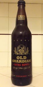 Old Guardian Barley Wine Style Ale (2015) - Extra Hoppy