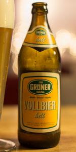 Grüner Vollbier Hell