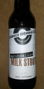 Marshmallow Milk Stout | Garage Brewing Co  | BeerAdvocate