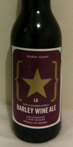 Brewers Reserve Barley Wine (Aged In Bourbon Barrels)