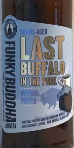 Last Buffalo In The Park