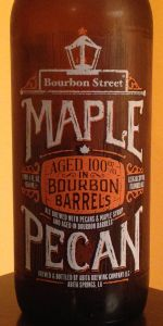 Abita Bourbon Street - Maple Pecan Nut Brown Ale