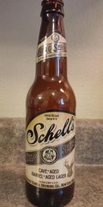 Schell's Stag Series:  Cave Aged Barrel Aged Lager