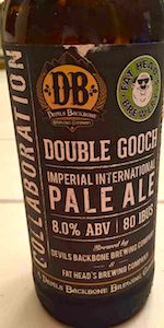 Double Gooch Imperial International Pale Ale