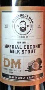 Imperial Coconut Milk Stout (Rum Barrel Aged)