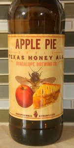 Apple Pie Style Texas Honey Ale