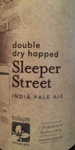 Double Dry Hopped Sleeper Street