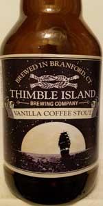 Vanilla Coffee Stout