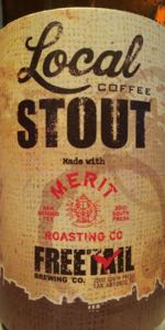 Local Coffee Stout