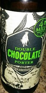 Double Chocolate Porter