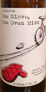 One Glove, One Oven Mitt