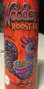 Wooden Rooster
