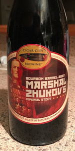 Marshal Zhukov's Imperial Stout - Bourbon Barrel Aged