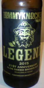 Legend 2015 21st Anniversary Olde Oaked Brown Ale