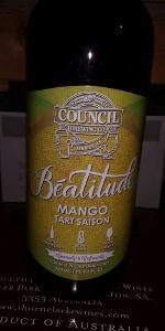 Beatitude Mango Tart Saison