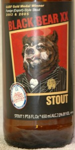 Black Bear XX Stout