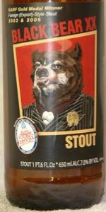 Black Bear XX Stout