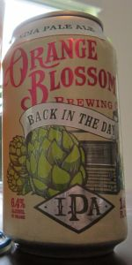 Back In The Day IPA