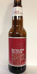 Baltika Brew Collection - Russian Imperial Stout