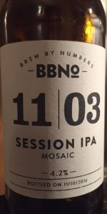 11|03 Session IPA (Mosaic)