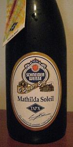 Schneider Weisse Tap X Mathilda Soleil