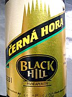 Cerna Hora Black Hill Pivni Aperitiv