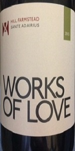 Works Of Love 2013: Sante Adairius Rustic Ales