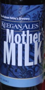 Mother's Milk Stout