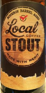 Bourbon Barrel Aged Local Coffee Stout