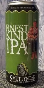 "Smuttynose IPA ""Finest Kind"""