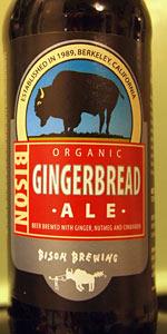 Bison Organic Gingerbread Ale