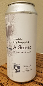 Double Dry Hopped A Street IPA