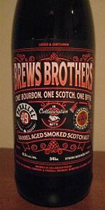 One Bourbon One Scotch One Beer Barrel Aged Smoked Scotch Ale