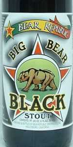 Big Bear Black Stout