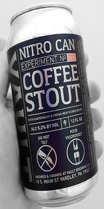 Nitro Can Coffee Stout (Experiment No. 002)