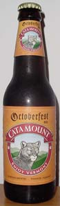 Catamount Octoberfest Beer