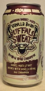 Buffalo Sweat - Bourbon Barrel-Aged With Vanilla Beans And Cinnamon