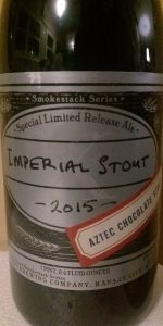Imperial Stout X: Aztec Chocolate