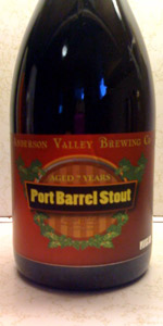 Port Barrel Aged Oatmeal Stout