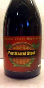 Port Barrel Aged Oatmeal Stout