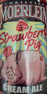 Strawberry Pig Cream Ale
