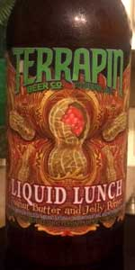 Terrapin Side Project #25 Liquid Lunch Peanut Butter & Jelly Porter