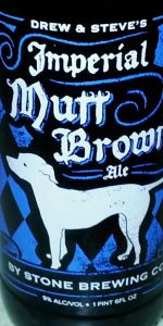 Spotlight Series: Imperial Mutt Brown Ale