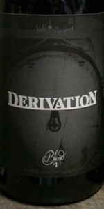 Derivation Blend #1 (Maple Syrup Bourbon Barrel)