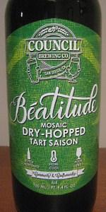 Beatitude Mosaic Dry Hopped Tart Saison